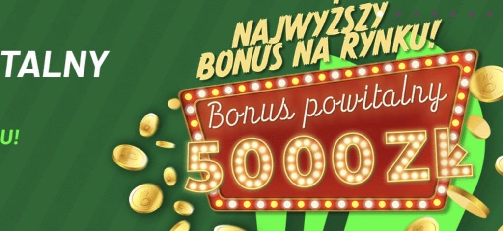 Totalbet największy bonus w Polsce