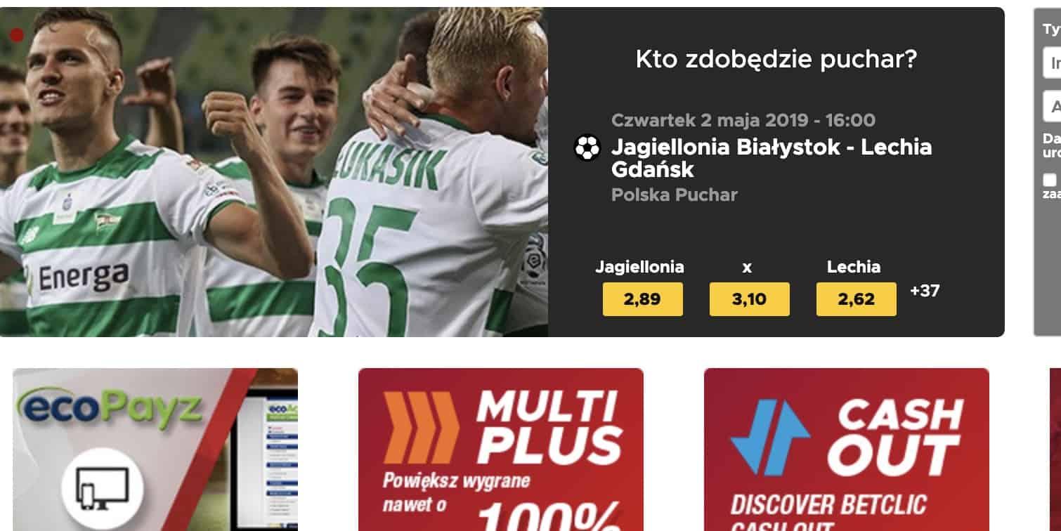 Legalne Zakłady Bukmacherskie BetClic