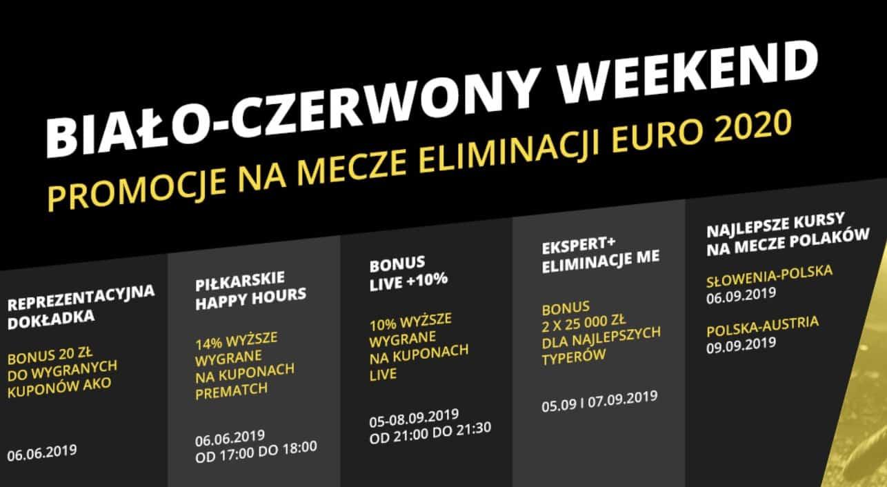 Bonusy bukmacherskie na mecz Słowenia - Polska. Fortuna daje 20 PLN!