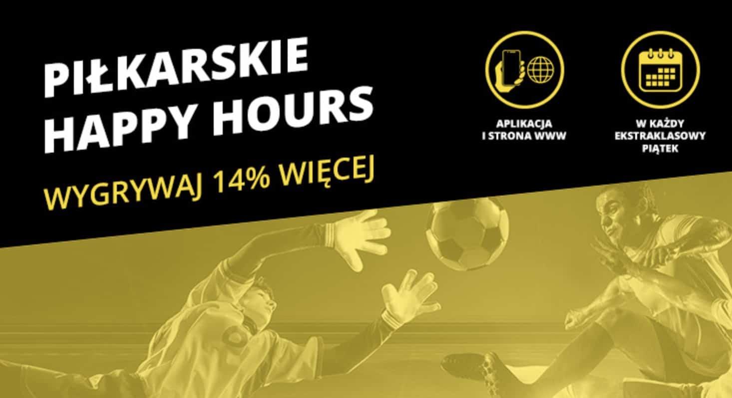 Fortuna Happy Hours, czyli sposób na zarobienie 14% więcej!