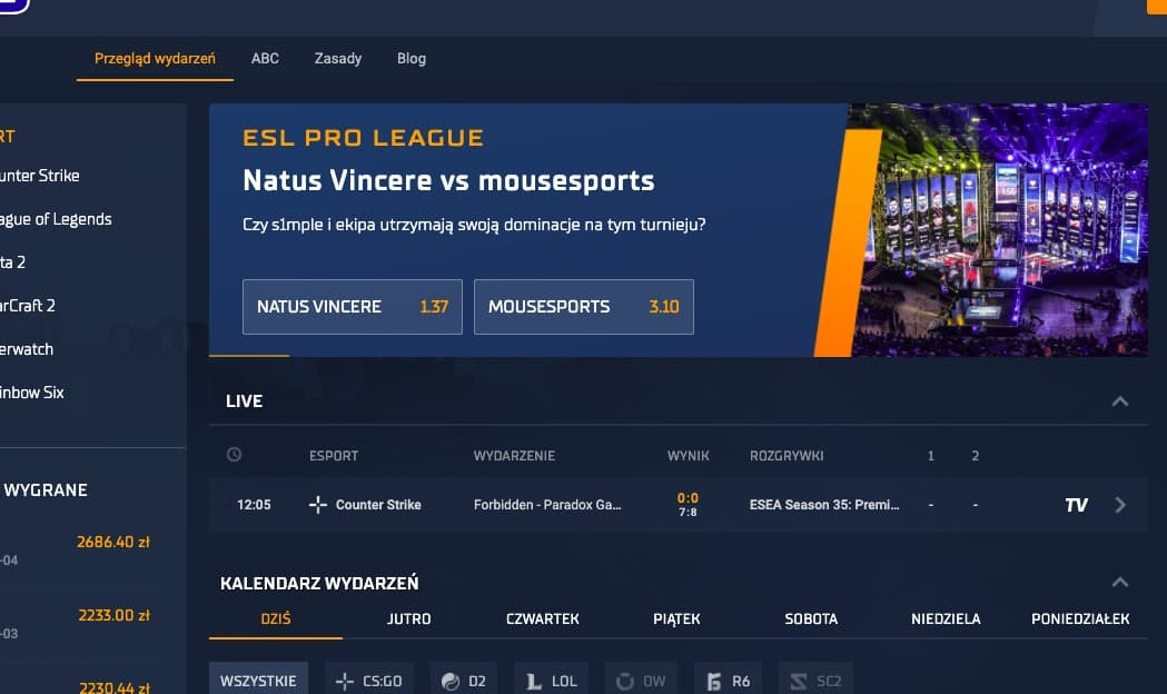 Jak obstawiać mecze League of Legends?