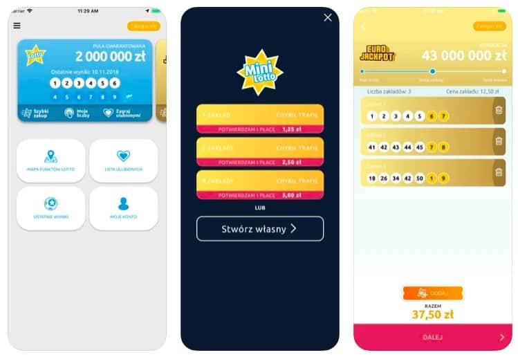 Aplikacja Lotto online za darmo